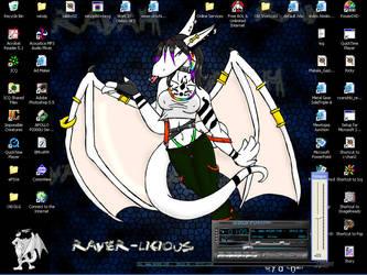 Desk-t by dragon-chan