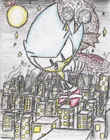 Hovering over Eggmanland by ClassicTeam