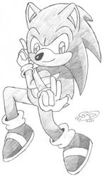 Random Sonic Pose by ClassicTeam