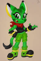 Carol the Wildcat - Freedom Planet by ClassicTeam