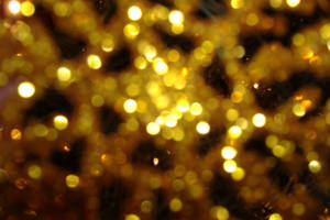 Gold Glittery Web by bombstock