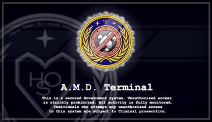 AMD Terminal Wallpaper by JakobTheJ