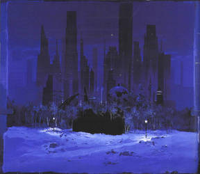 Bill Mather Matte Painting by Arabor