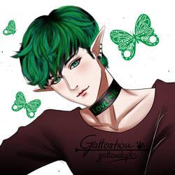 Green by gattoshou
