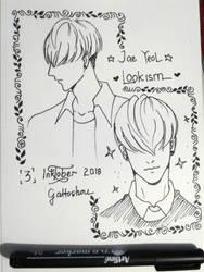 Inktober2018 - Jae Yeol Fanart by gattoshou