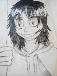 Jeff the Killer by Nautileen