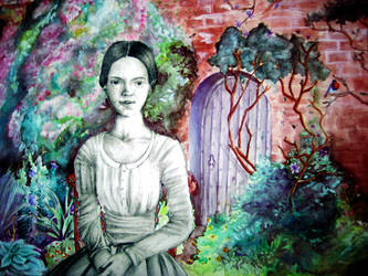 Emily Dickinson by aru-lover