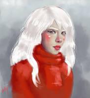 Portrait 01 by VickyInu