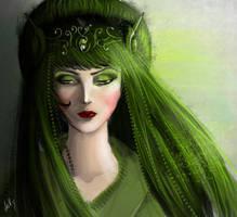 Green by VickyInu