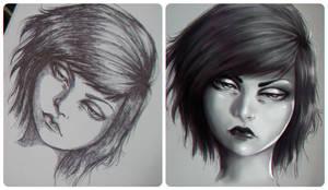 Sketchbook by VickyInu