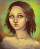 Tired eyes by VickyInu