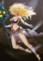 Janna - League of Legends by VickyInu