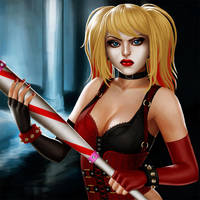 Harley Quinn by VickyInu