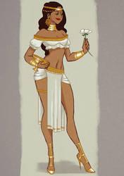 Egyptian Priest by VickyInu