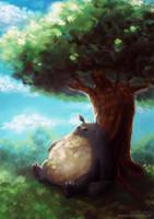 Totoro by VickyInu