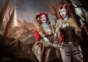 CM - Trouble Twins by VickyInu