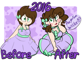 Redraw Challenge - 2016 by BefishProductions