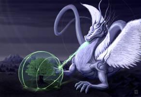 Snafeadragus Beatific Dragon by PierreFihue