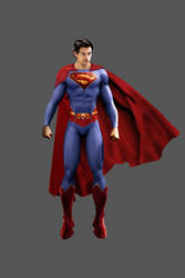 H. Cavill As Superman Classic by J-K-K-S