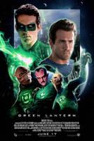 Green Lantern Final Poster by J-K-K-S