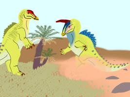 Priaposauron (Retrosaur Challenge) by OviraptorFan