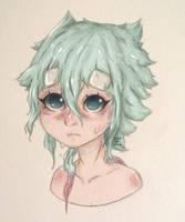 Blue - Aqua Fan Art by SonOfAtom101