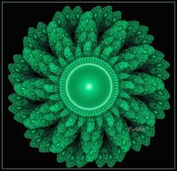 Beaded Flower by antarctica246