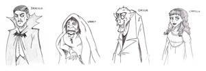 Sketch: Classical Vampires by JaviDLuffy