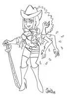 Sketch: One Piece Ladies 2 by JaviDLuffy