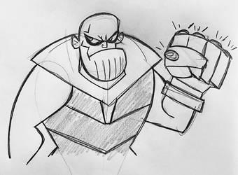 Cartoon Titan by JaviDLuffy