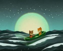 Moonlight Serenade by boOnsai