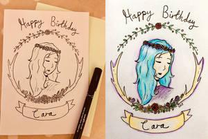 Cara's Card by Stellamarius