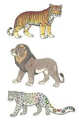 Big Cat Adopts [Open] by Schmuseleopard