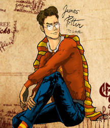 James Potter-Prongs by Liette-Official