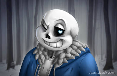 Sans the Skeleton by LaurenSparks
