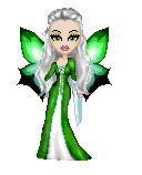 Slytherin fairy by MinervaSnape