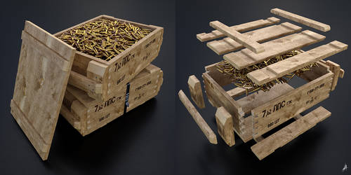 Ammo crate by Avhaz