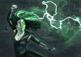 Bellatrix LeStrange by thetigerfluff