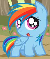 Rainbow Dash, My Little Pony Chibi by Dragoart