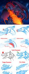 Fire Breathing Dragon Tutorial by Dragoart