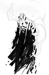 Hellboy Sketch. by JohnTimms