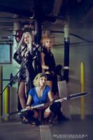 Final Fantasy Girls by BigWhiteBazooka