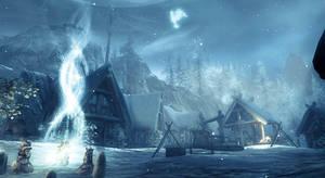 Skaal Village - Skyrim by WatchTheSkies45