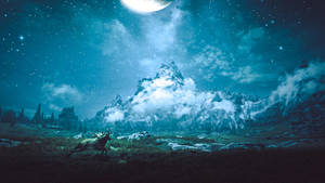 Under the Moonspell - Skyrim by WatchTheSkies45