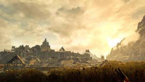 Whiterun Fields - Skyrim by WatchTheSkies45