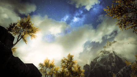 At Dawn, Look To The East - Skyrim by WatchTheSkies45