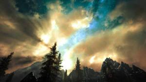 At Dawn, Look To The East II - Skyrim by WatchTheSkies45