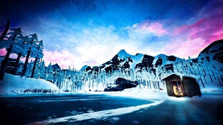 Mystery Lake - The Long Dark by WatchTheSkies45