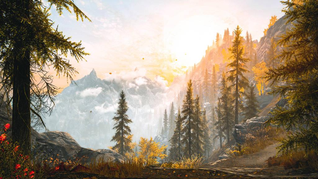 Morning Breeze - Skyrim by WatchTheSkiies