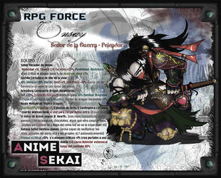 Sekai-04-ONSAY -Warlord Fighter- (FanArt XD) by MargGram
